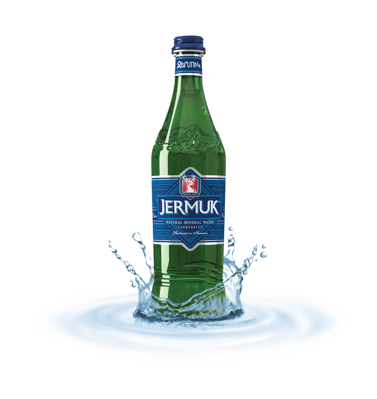 Mineral Water - Jermuk SA - Naturally Carbonated Mineral Water